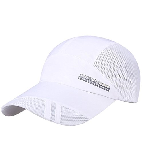 Sport Cap Summer Quick-Drying Sun Hat Unisex UV Protection O