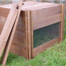 La WOW! - de observación de madera Wormery (ventana ...