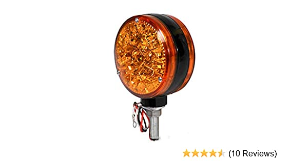 Amazon.com: A&I A-28A43 Super Bright LED Safety Light for Tractors & Combines: Industrial & Scientific