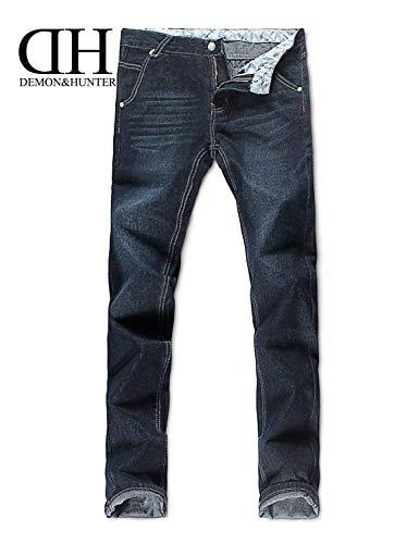 Gamba 806 Pantaloni Giovane Di Uomini Vintage R Cut Dunkelblau Dritta Jeans Serie Straight Moda r1rqxwzA