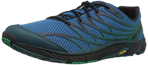 Compétition Chaussures Mykonos Access Bare Running Blue de Merrell 4 Bleu Homme Y6gtTnO