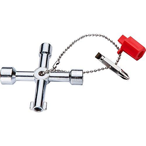 Profi Universalschlüssel, Müllboxenschlüssel, Schaltschrankschlüssel