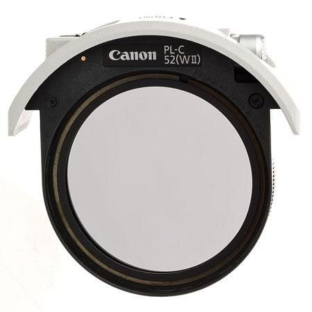 Canon 52mm PL-C Drop-in Circular Polizer Filter Filters at amazon