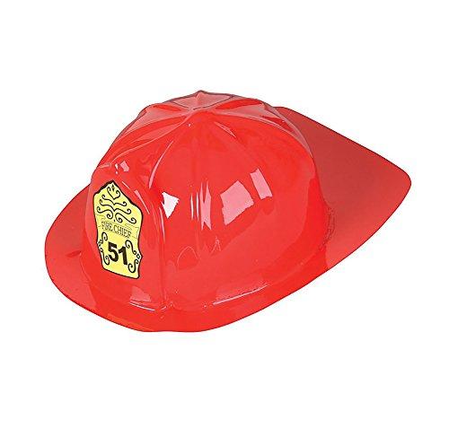 Fireman Hat Child Flexible Plastic