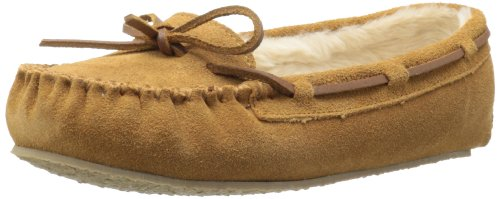 Minnetonka Women's Cally Slipper,Cinnamon,7 M US