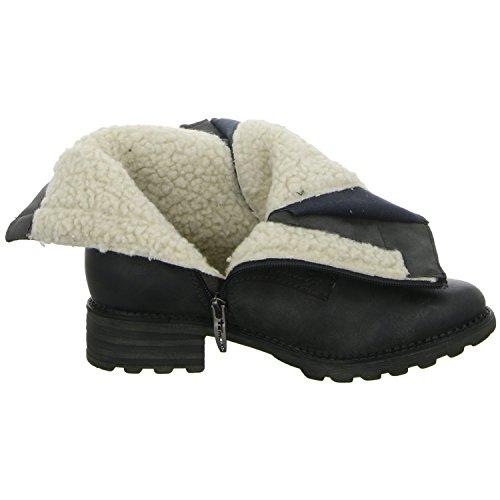 Tamaris 1-1-26206-25-002 - Botas de cuero sintético para mujer 39 002BLACK ANTIC