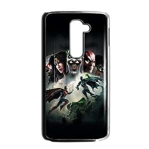 LG G2 Cell Phone Case Black Injustice Gods Among Us Skezf