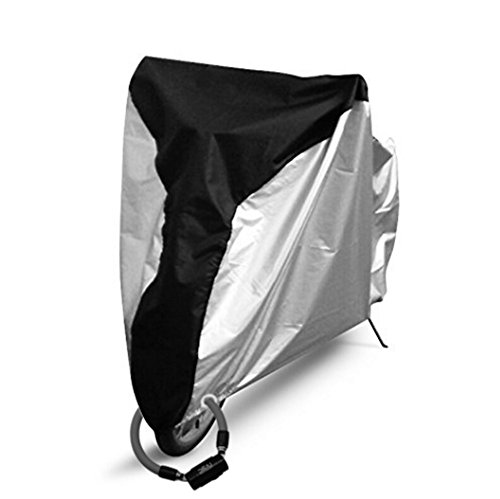 Reehut Bike Cover - 210T Polyester - XL - Heavy Duty Ripstop Material, Waterproof & Anti-UV - Protection from All Weather Conditions for Mountain, 29er, Road, Cruiser & Hybrid - Cut Shield Out