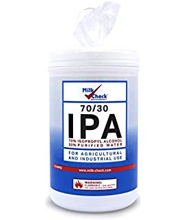 Amazon com: MG Chemicals Alcohol Wipes (70% IPA), 7