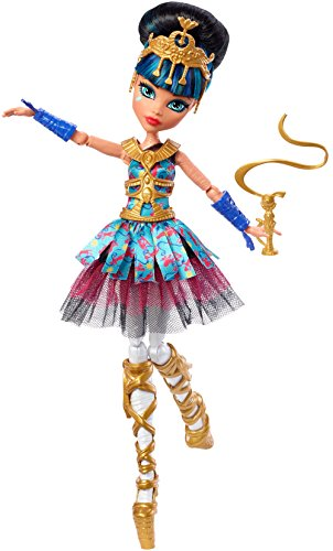 Monster High Ballerina Ghouls Cleo De Nile Doll -