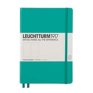 Leuchtturm1917 Hardcover Medium Dotted Journal [Emerald]