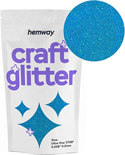 - Hemway Craft Glitter 100g 3.5oz Ultrafine 1/128