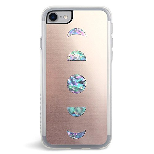 Phone Case Embroidered (ZERO GRAVITY Fashion Cell Phone Case for Apple iPhone 7/8 (Moonlight))