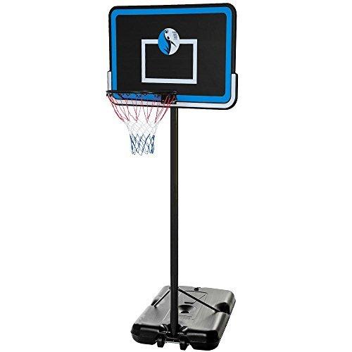 10FT Adjustable Basketball Hoop System Stand Kid Outdoor Net Goal w/ Wheels
