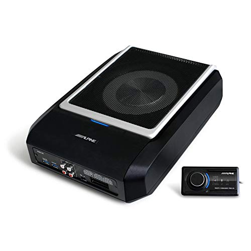 Alpine PWD-X5 Compact Powered 8' Subwoofer System with 4-Channel DSP & Amp