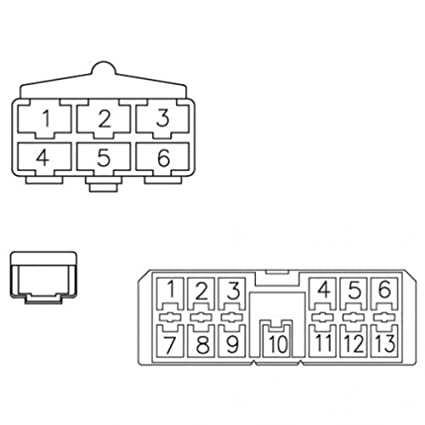 amazon com all states ag parts radio wiring harness  14 gm si alternator wiring wiring diagram