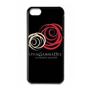 iPhone 5c Cell Phone Case Black Alpha Gamma Delta Sorority BNY_6933622
