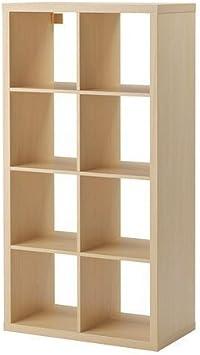 Ikea Estantería Kallax el nuevo Expedit. 8 – Bandeja de madera de abedul 147 x 77 x 39 cm)
