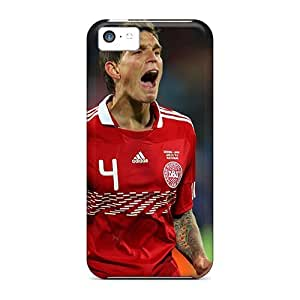 linJUN FENGCWL2143fBon Case Cover The Best Defender Of Liverpool Daniel Agger iphone 5/5s Protective Case