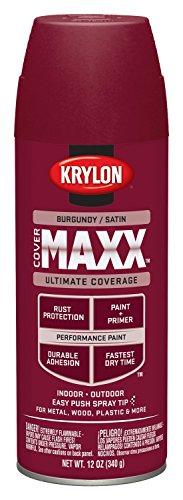 krylon-k09161000-covermaxx-spray-paint-satin-burgundy-12-ounce