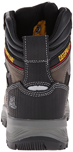 Gull Work Grey Inch Boot Men's Compressor Dark WP Caterpillar 6 qOXH8wnX6