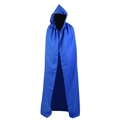 Smartcoco Halloween Cosplay Hooded Sleeveless Cloak Adult Halloween Party Costumes Capes(S-XXL) - Cheap Zombie Contact Lenses
