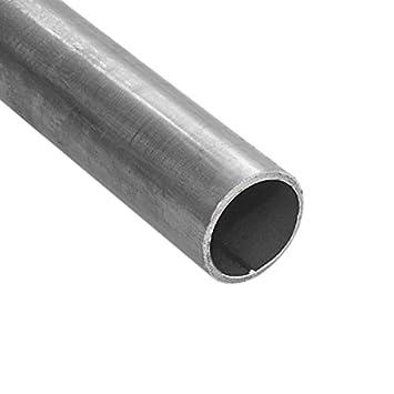 Super Stahlrohr / Rundrohr geschweißt - schwarz - 1