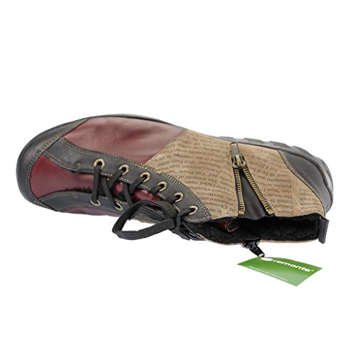 SALE - REMONTE - Damen Halbschuhe - Rot Schuhe in Übergrößen