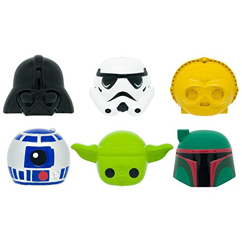 Basic Fun Tech 4 Kids Star Wars Mashems Blind Pack Capsule - 4 Pack (4 Capsules Per Order)