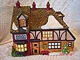 Heritage Village Collection; Dickens' Village Series: ''Nicholas Nickleby Cottage'' #5925-0 by Department 56