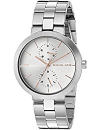 Michael Kors Women's Quartz Stainless Steel Automatic Watch, Color:Silver-Toned (Model: MK6407)