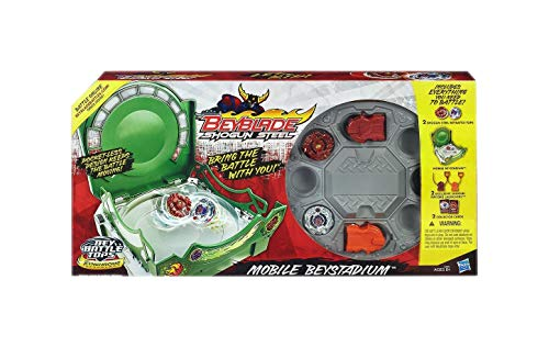 Beyblade Shogun Steel Mobile Beystadium Set by Hasbro -