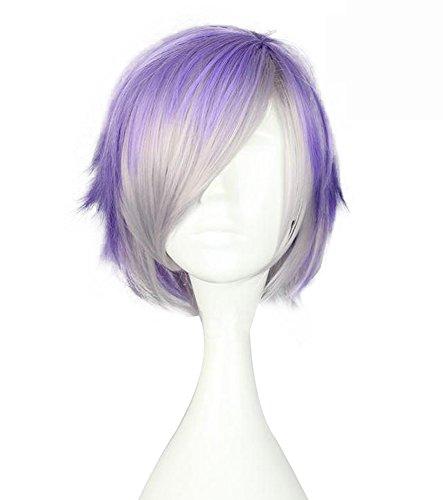 Kanato Sakamaki Costume (Mtxc Diabolik Lovers Cosplay Kanato Sakamaki Wig Gradient Purple)