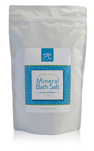 Brittany Seaweed Mineral Bath Salt by Wave Connection 2 Lb ()