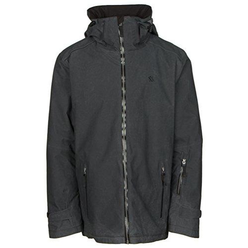 Volkl Khula Mens Insulated Ski Jacket - Small/Black Wax