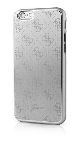 Guess 4G Collection Etui en aluminum pour Iphone 6 Plus/6S Plus Argent