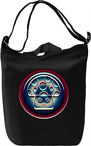 Psychedelic Mushroom Borsa Giornaliera Canvas Canvas Day Bag| 100% Premium Cotton Canvas| DTG Printing|