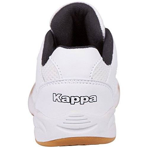 White Unisex Black Kids Low 1011 Kinder Top Kickoff Kappa Weiß Zqv7cgUUa