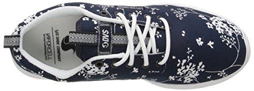 DVS Womens Premier 2.0 Wos-W Skateboarding Shoe, White/Navy/Blossom, 7.5 M US