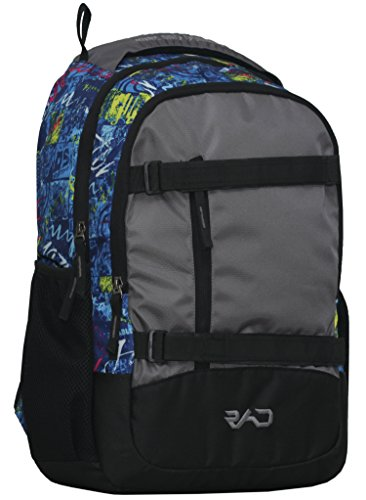 Rare And Demanded Skater Ultra Blue Multicolor 23 L Casual Backpack | College Bags | Backpacks for Men | Backpacks for Women| Laptop Backpacks | 17 in