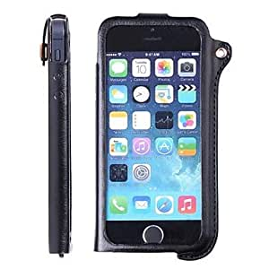 SODO CM02 New Edition PU Leather Protective Case for iPhone 5/5S/5C (Assorted Colors) , Black