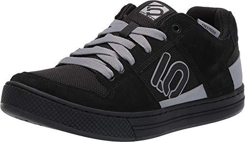 Five Ten Freerider Mens Mountain Bike Shoes (Black, Grey, Clear Grey) Size 9