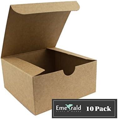 Cajas de regalo de papel kraft prémium, caja de cartón ecológico ...