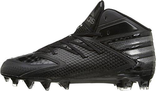Adidas Prestaties Heren Buitenissig X Carbon Mid Voetbalschoen Kern Zwart / Kern Zwart / Kern Zwart