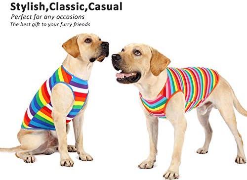 Uvoguepaw - Camisas para perros pequeños, medianos y grandes, talla XS 4