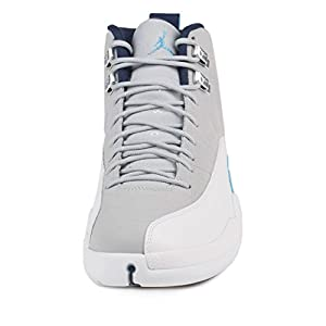 Nike Air Jordan 12 Retro Wolf Grey Men's Basketball Shoes Size 10
