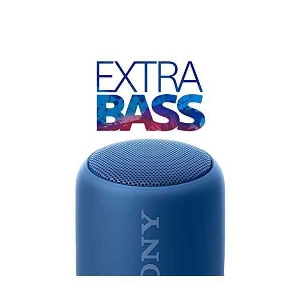 Sony SRS-XB10L Enceinte portable compacte sans fil Bluetooth NFC - Bleu 6
