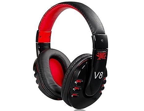 COOL color X1 inalámbrico Bluetooth música auriculares de diadema con micrófono (negro)