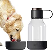 asobu Dog Bowl Attached to Tritan 1 Liter Bottle