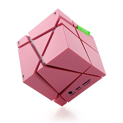Qone Magic Cube Colorful Wireless Bluetooth Speaker with Mic